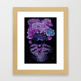 Rose acne Framed Art Print