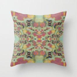 Celadon Japonica Throw Pillow