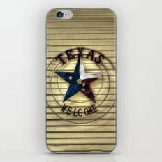 Texas Welcome iPhone Skin