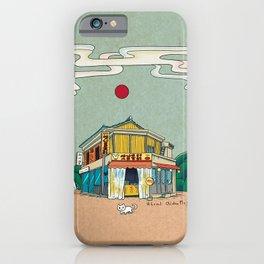 Urban Minhwa: Local Chicken Place B Type (Korean traditional/folk art) iPhone Case