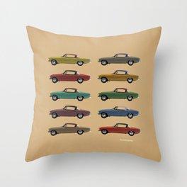 Five Studebakers Throw Pillow