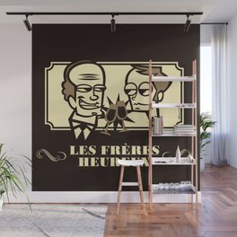 Les Frères Heureux Wall Mural