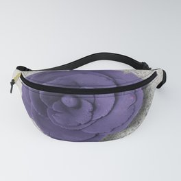 Purple Rose Fanny Pack
