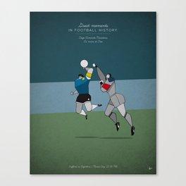 Diego Armando Maradona Canvas Print
