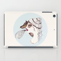 cassandra jean iPad Cases featuring Cassandra two: sly. by Tessa Sinclair Scott