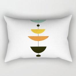 Mid Century Art Rectangular Pillow