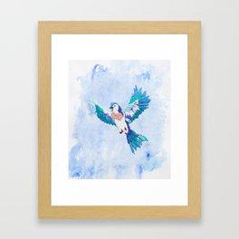 Hoopless: Fly Away Framed Art Print