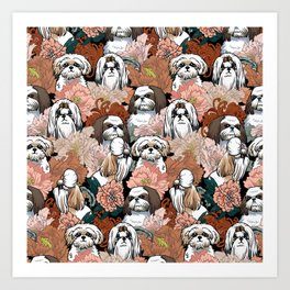 Because Shih Tzu Art Print