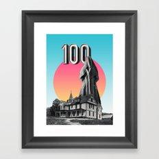 100 Nuns Framed Art Print