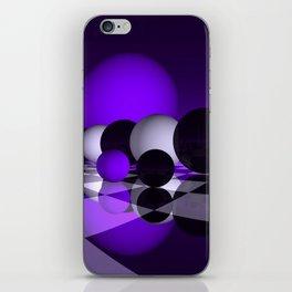 go violet -02- iPhone Skin