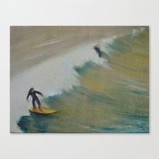 Surf San Diego Canvas Print