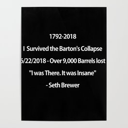 Barton's Collapse 2018 Poster