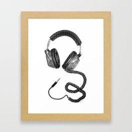 Headphone Culture Framed Art Print