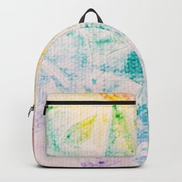 Rainbow Abstract #2 Backpack