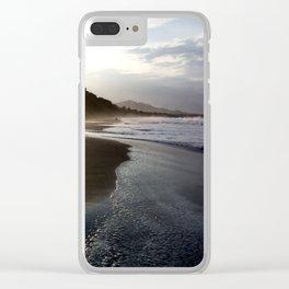 Sunrise Beach Clear iPhone Case