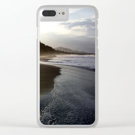 Sunrise Beach Clear iPhone Case
