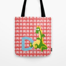 d for dragon Tote Bag