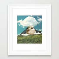 rushmore Framed Art Prints featuring Mount Rushmore by Jordan Clark