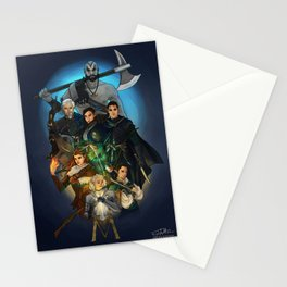 Vox Machina Stationery Cards