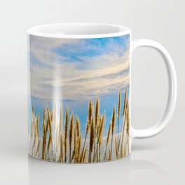 Fort Bragg's Ocean Cattails Coffee Mug