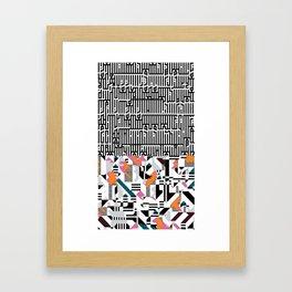 """""""epicgrafia"""" signed Framed Art Print"""