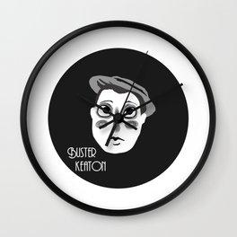 Buster Keaton Wall Clock