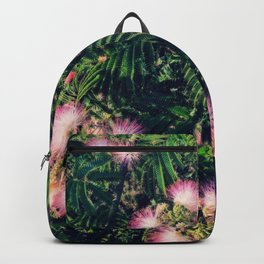 Mimosa Tree Floral Pattern | Photography | Tropical | Pink aesthetic Backpack