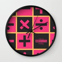 jojo Wall Clocks featuring JoJo Vento Aureo Trish Una by El Cadejos