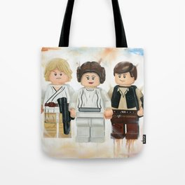 The Bold, the Brave and the Strong Tote Bag