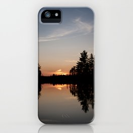 Northern Sunset 003 iPhone Case