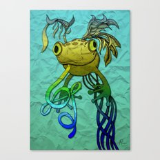 Psychoactive Frog Canvas Print