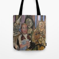 oz Tote Bags featuring OZ  by Robert E. Richards