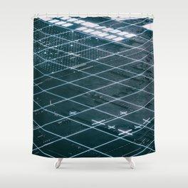 Day 0820 /// Techy break Shower Curtain