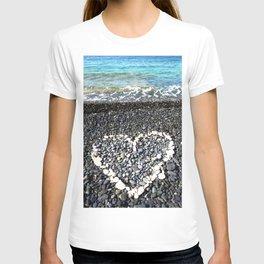 Watercolor Landscape, St John 11, USVI T-shirt