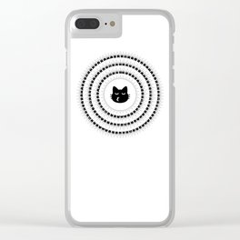 Noto cats Clear iPhone Case