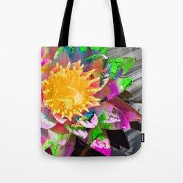Abstract Flower Art - Wild Lotus Flower - Sharon Cummings Tote Bag