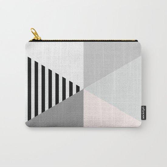 Minimalist Geometric Carry-All Pouch