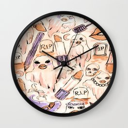 ghosts make up Wall Clock