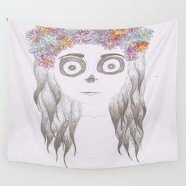 festival skull Wall Tapestry