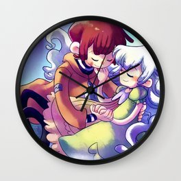 What are whispering the stars? Wall Clock