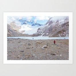 Laguna de los Tres, Patagonia, Argentina Art Print