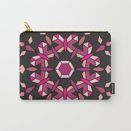 Moth's Crystal Snowflake - Red Version Carry-All Pouch