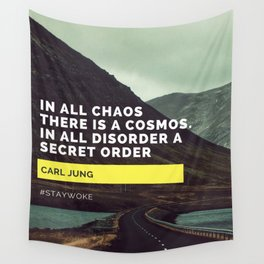 Carl Jung Order Chaos Wall Tapestry