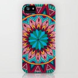 Heart and Soul Mandala iPhone Case