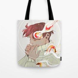 A Calm Flame Tote Bag