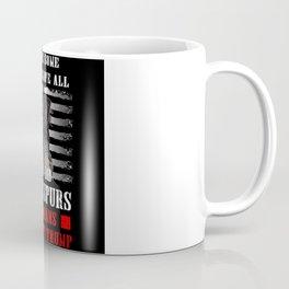 Anti-Trump Veterans Shirt Bone Spurs Coffee Mug
