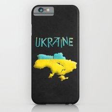 Ukraine Vintage Map Slim Case iPhone 6