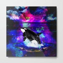 Orca Metal Print