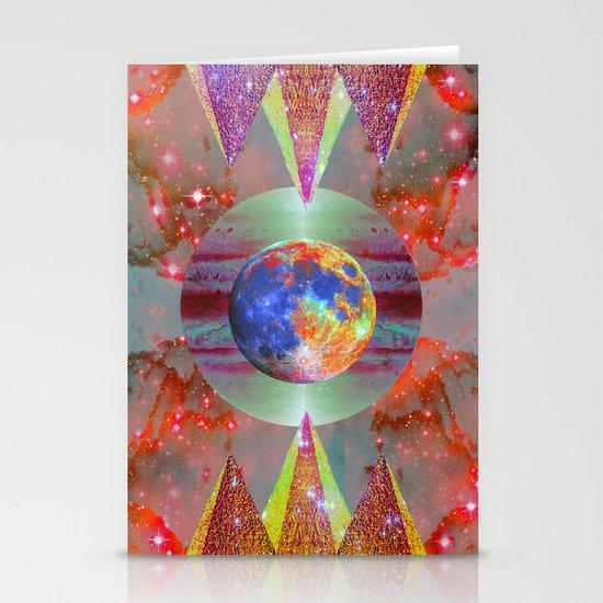 ☪elestial Pyramids Stationery Cards