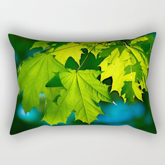 Tales From The Maple Wood Rectangular Pillow